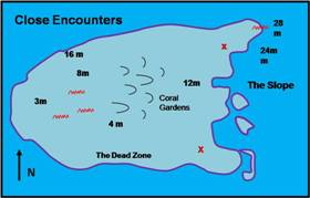 close encounters map
