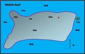 middle reef map